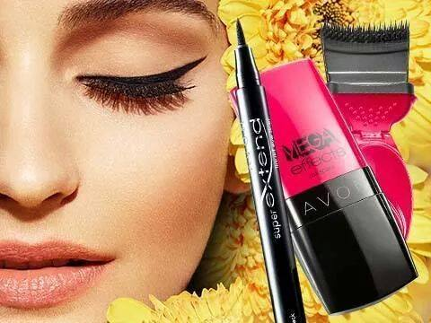 Eyeliner Super Extend e Mascara Mega Effects. Ordini Avon Catalogo Online